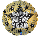 "17""HNY NEW YEAR STARS"