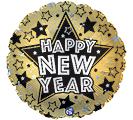 """17""""HNY NEW YEAR STARS"""