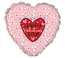 "36"" VALENTINE'S DAY HEART IN HEART"