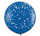 3'STAR ON SAPPH BLUE