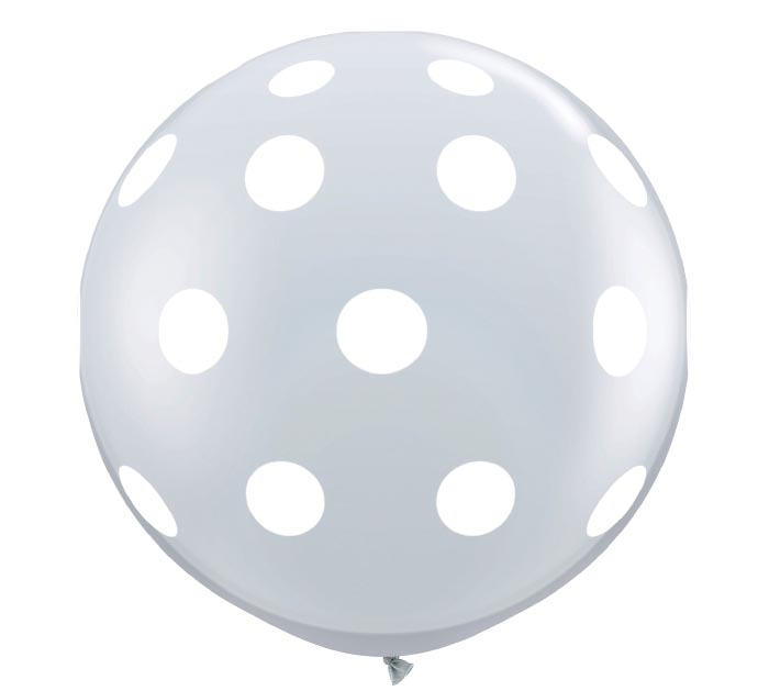 3'BIG POLKA DOTS CLR