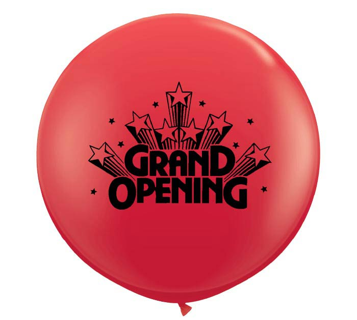 "3' ""GRAND OPENING"""