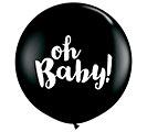 3' OH BABY ONYX BLACK LATEX PK/2