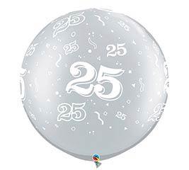 """30""""ANN 25 A ROUND SILVER"""