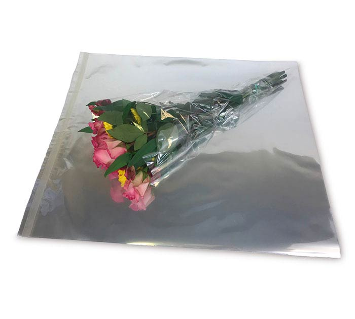 WRAPEZ FLORAL SELF ADHESIVE SHEETS CLEAR