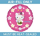 "9""FLAT HELLO KITTY"