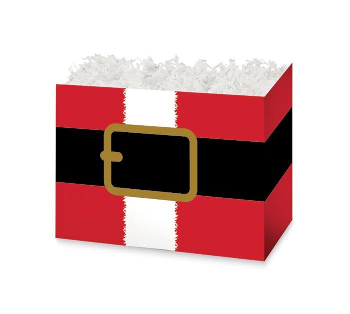 SMALL DIE CUT BOX SANTA'S BELT