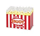 SMALL DIE CUT BOX FRESH POPCORN