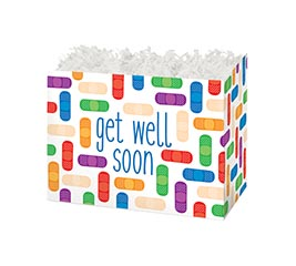 SMALL DIE CUT BOX GET WELL SOON
