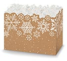 SMALL BOX KRAFT SNOWFLAKES