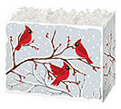 SMALL BOX WINTER BIRDS  BERRIES