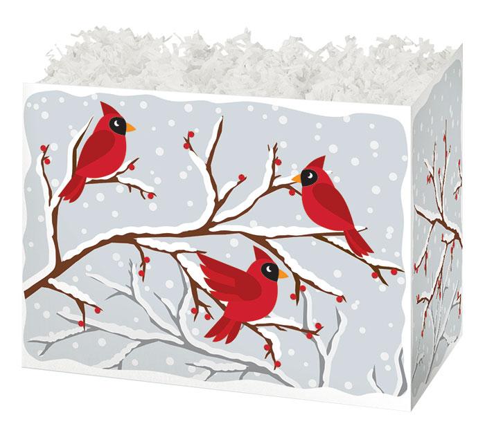 SMALL BOX WINTER BIRDS  BERRIES