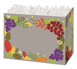 SMALL BOX FALL FOLIAGE