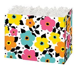 SMALL BOX POLKA DOTS  PETALS