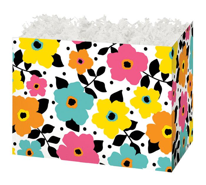 SMALL BOX POLKA DOTS  PETALS