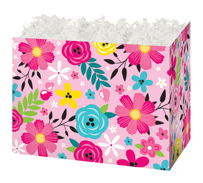 SMALL BOX PINK FLORAL