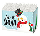 SMALL BOX LET IT SNOWMAN