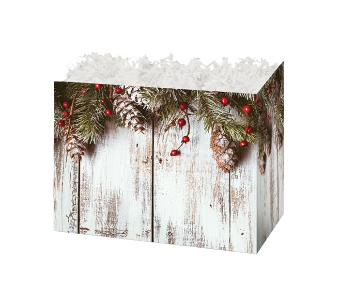 SMALL BOX RUSTIC NOEL