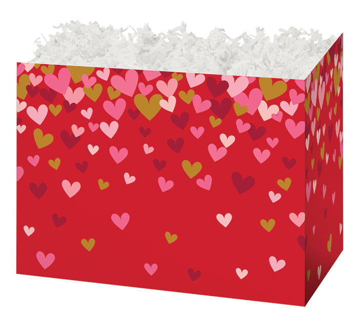 SMALL BOX CONFETTI HEARTS