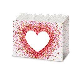 SMALL BOX HEART SHAPE CONFETTI