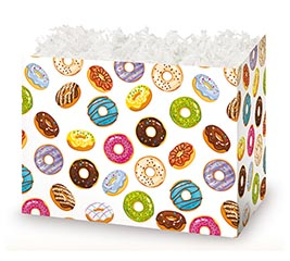 SMALL DIE CUT BOX LOTS OF DONUTS