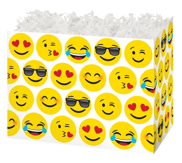 LARGE DIE CUT BOX EMOJI'S