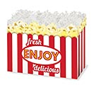 LARGE DIE CUT BOX FRESH POPCORN