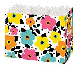 LARGE POLKA DOTS  PETALS BOXCO BOX