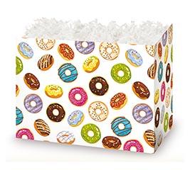 LARGE DIE CUT BOX LOTS OF DONUTS
