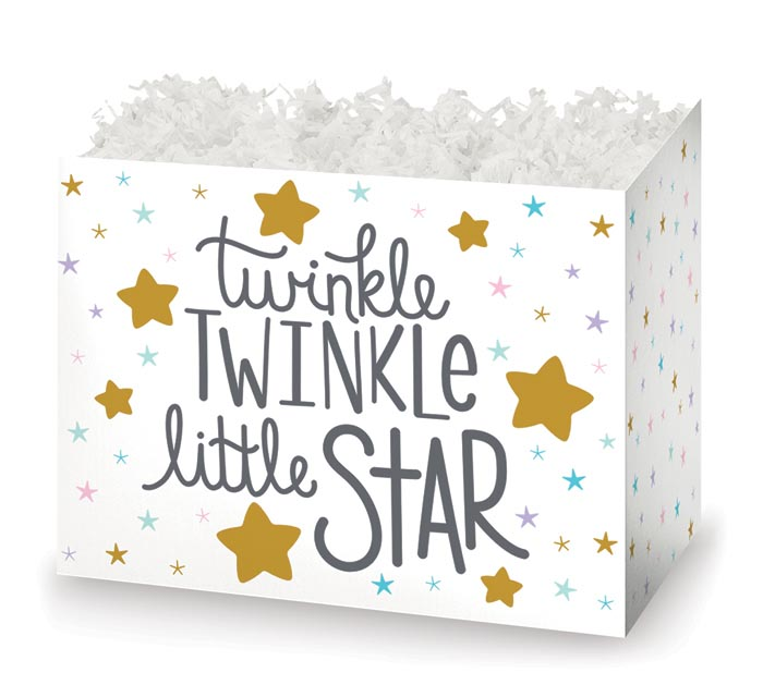 LARGE DIE CUT BOX TWINKLE LITTLE STAR