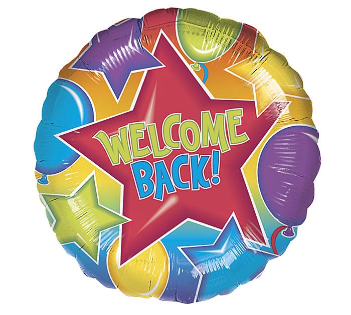 """18""""PKG WELCOME BACK"""