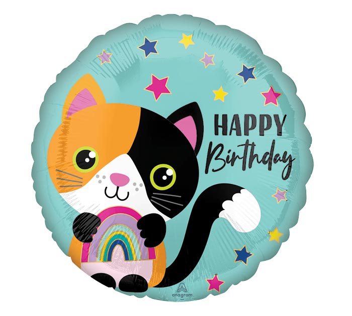 "17""PKG CALICO CAT BIRTHDAY"