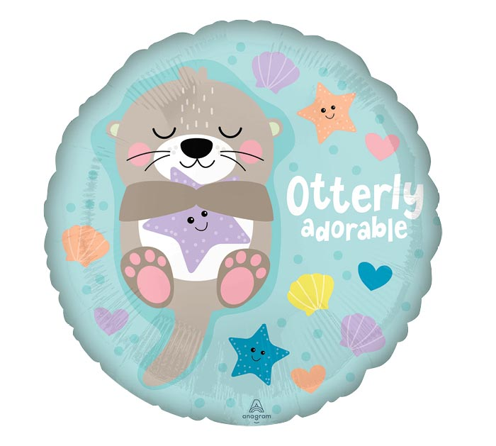 "17""PKG OTTERLY ADORABLE"