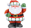 "28"" CHRISTMAS SANTA SHAPE ONLY 3 AVAIL"