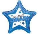 "19""GRA CONGRATS BLUE"