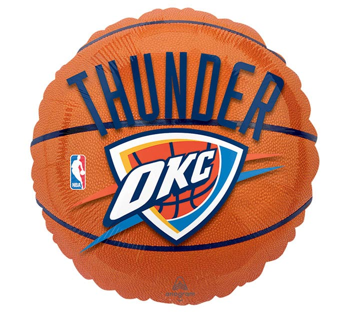 Qualatex Basketball Shaped 18 Inch Helium Foil Balloon
