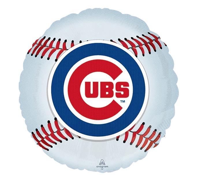 "18"" MLB CHICAGO CUBS BASEBALL SHAPE"