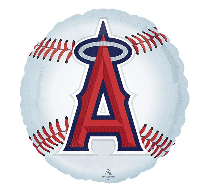 "18"" MLB LOS ANGELES ANGELS BASEBALL"