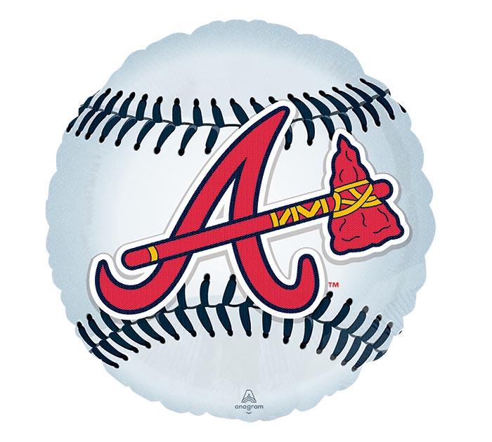 "18"" MLB ATLANTA BRAVES BASEBALL"