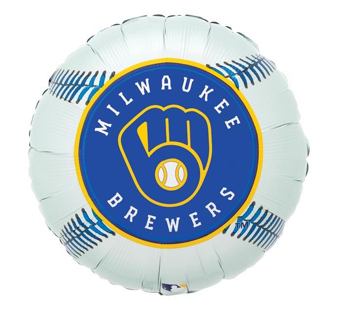 "17"" MLB MILWAUKEE BREWERS BASEBALL"
