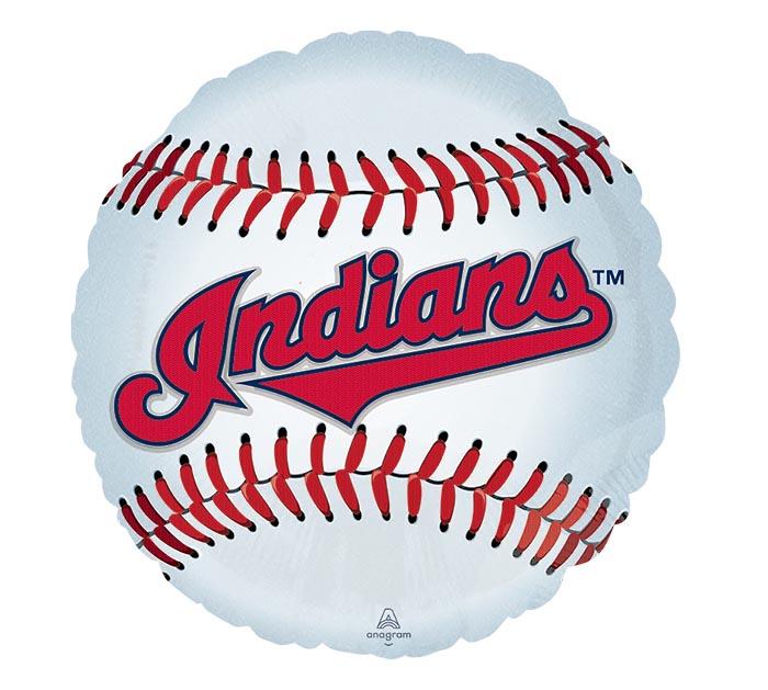 """18"""" MLB CLEVELAND INDIANS BASEBALL"""