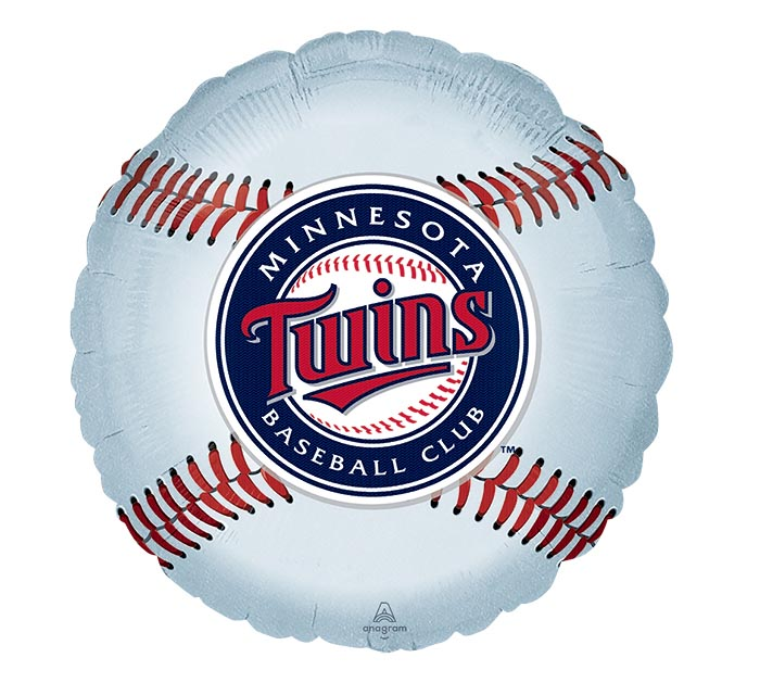 "18"" MLB MINNESOTA TWINS BASEBALL SHAPE"