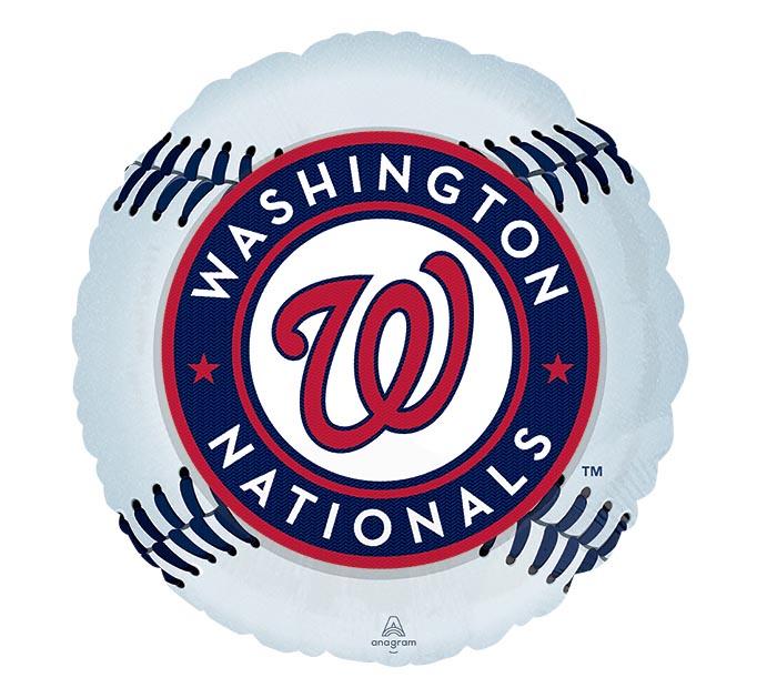 """17"""" MLB WASHINGTON NATIONALS BASEBALL"""