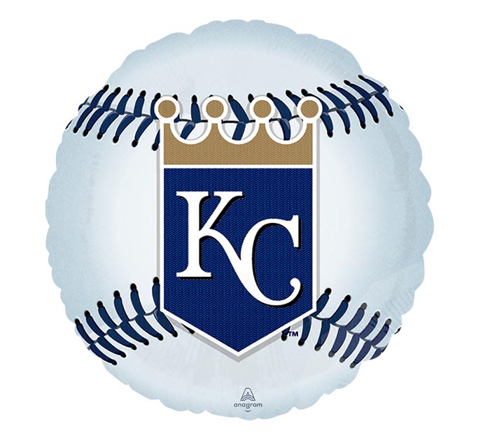 "18"" MLB KANSAS CITY ROYALS BASEBALL"