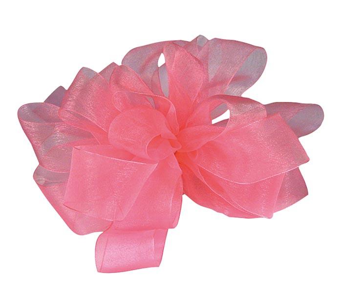 #5 SHEER ROSE PINK RIBBON