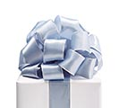#9 SILVER SINGLE FACE SATIN RIBBON