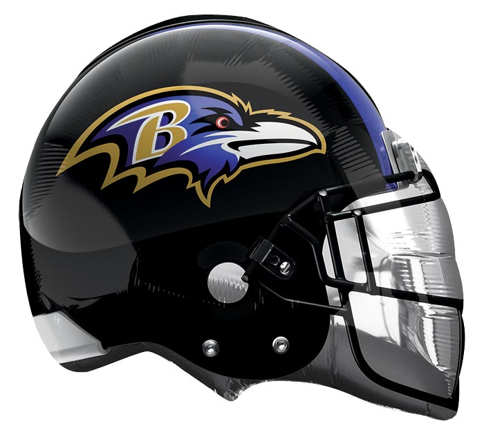 "21"" BALTIMORE RAVENS HELEMT SHAPE"