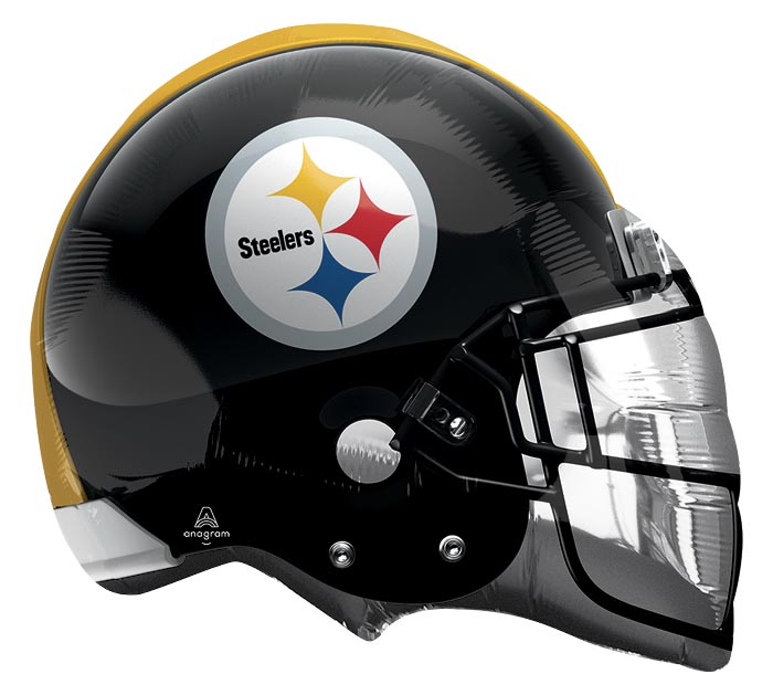 "21"" NFL PITTSBURGH STEELERS HELMET"