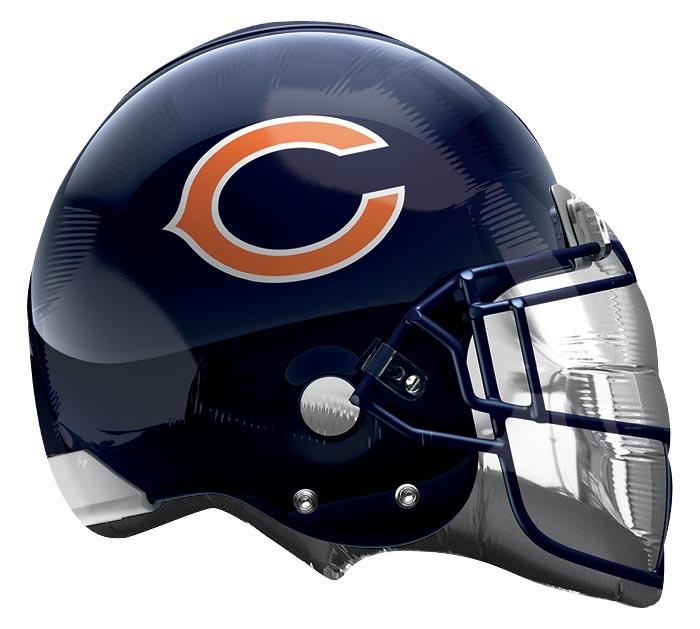 """21"""" NFL CHICAGO BEARS HELMET SHAPE"""