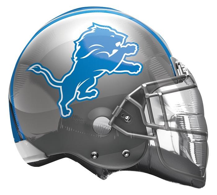 """21"""" NFL DETROIT LIONS HELMET SHAPE"""
